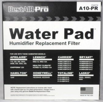 aprilaire replacement water pad