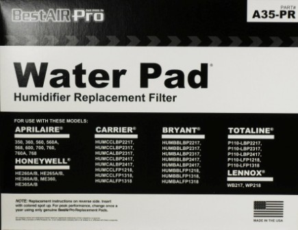 aprilaire water pad replacement #35